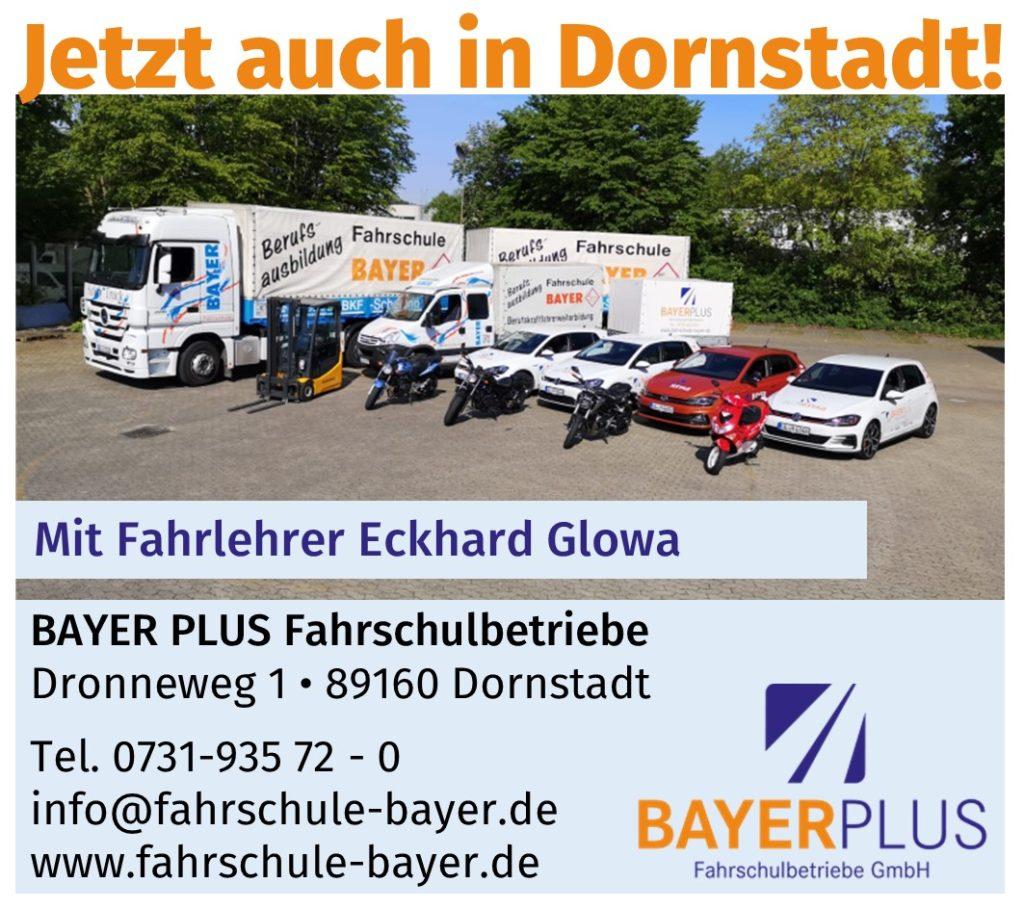 Jetzt auch in Dornstadt!