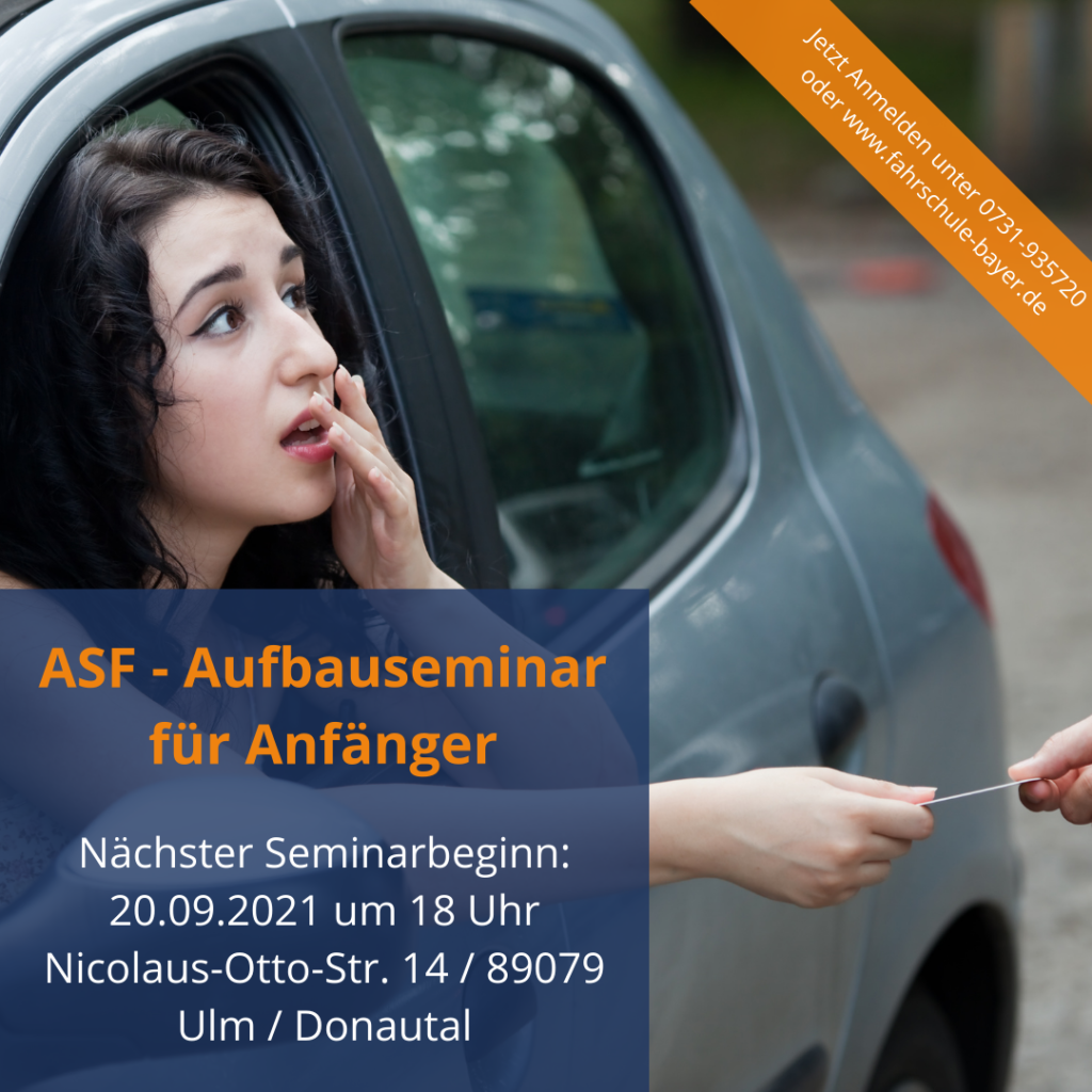 ASF -Aufbauseminar für Anfänger